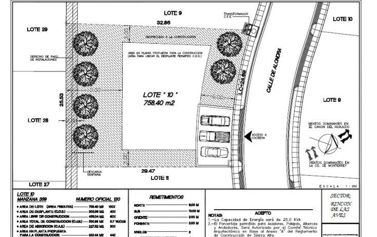 Foto de terreno habitacional en venta en, san gabriel, monterrey, nuevo león, 1338457 no 08