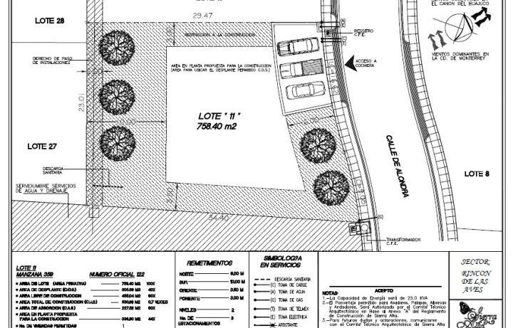 Foto de terreno habitacional en venta en, san gabriel, monterrey, nuevo león, 1338457 no 11