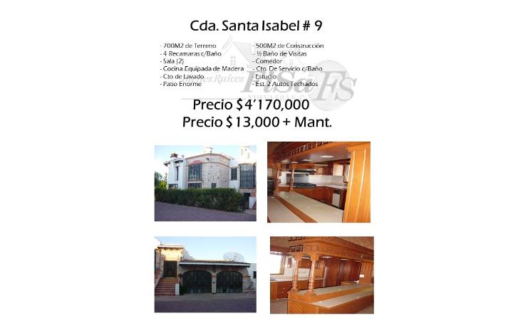 Foto de casa en venta en  , san gil, san juan del r?o, quer?taro, 1099509 No. 01