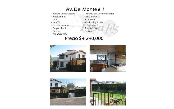 Foto de casa en venta en  , san gil, san juan del río, querétaro, 1488831 No. 01