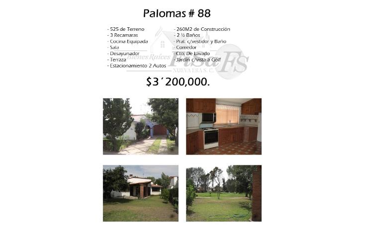 Foto de casa en venta en  , san gil, san juan del río, querétaro, 1636146 No. 01