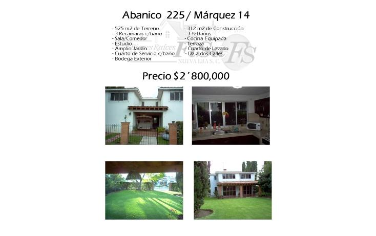 Foto de casa en venta en  , san gil, san juan del río, querétaro, 1636214 No. 01