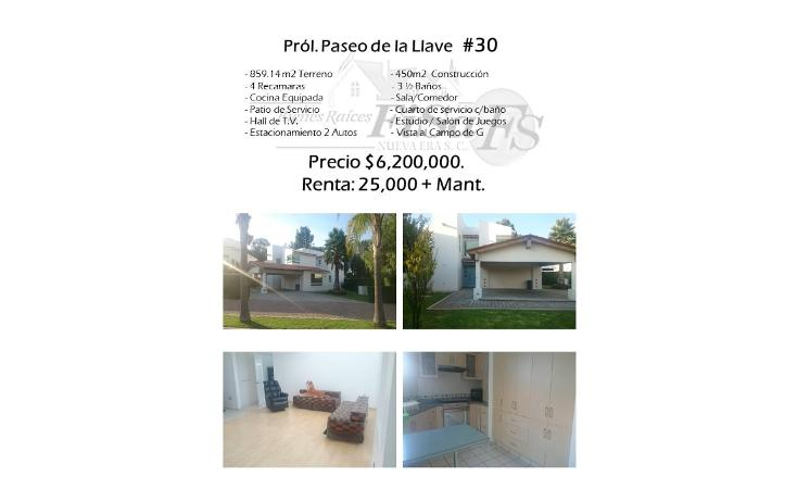 Foto de casa en venta en  , san gil, san juan del río, querétaro, 2017504 No. 01