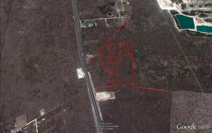 Foto de terreno habitacional en venta en  , san ignacio, progreso, yucatán, 1400089 No. 02