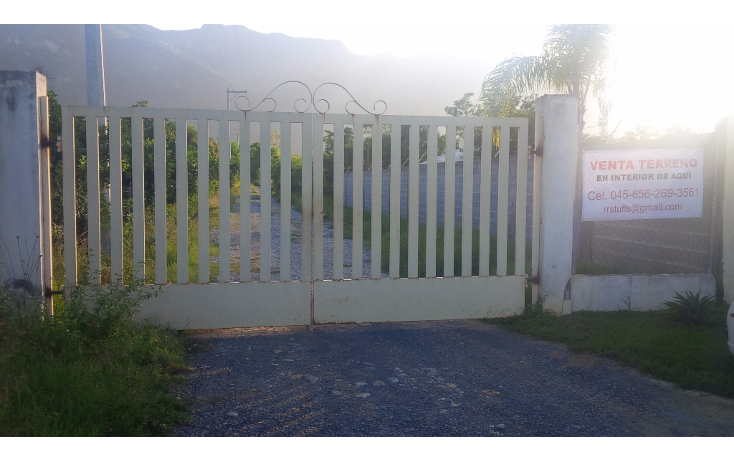 Foto de terreno habitacional en venta en  , san isidro, cadereyta jiménez, nuevo león, 1443945 No. 02