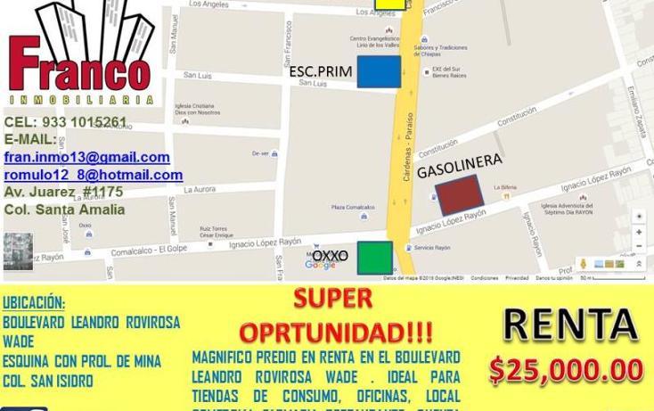 Foto de terreno comercial en renta en  , san isidro, comalcalco, tabasco, 1711050 No. 02