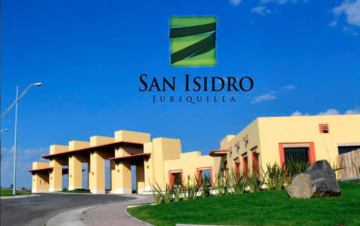 Foto de terreno habitacional en venta en san isidro juriquilla, condominio magnolias , juriquilla, querétaro, querétaro, 1384383 No. 01