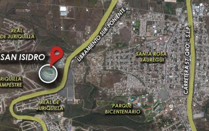 Foto de terreno habitacional en venta en san isidro juriquilla , juriquilla, querétaro, querétaro, 1523423 No. 02