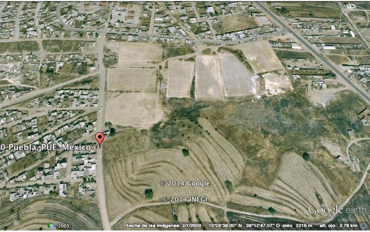 Foto de terreno comercial en renta en  , san jerónimo caleras, puebla, puebla, 1294999 No. 01