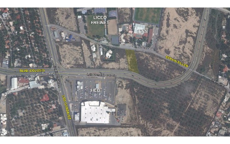 Foto de terreno comercial en venta en  , san jerónimo, saltillo, coahuila de zaragoza, 1555064 No. 03