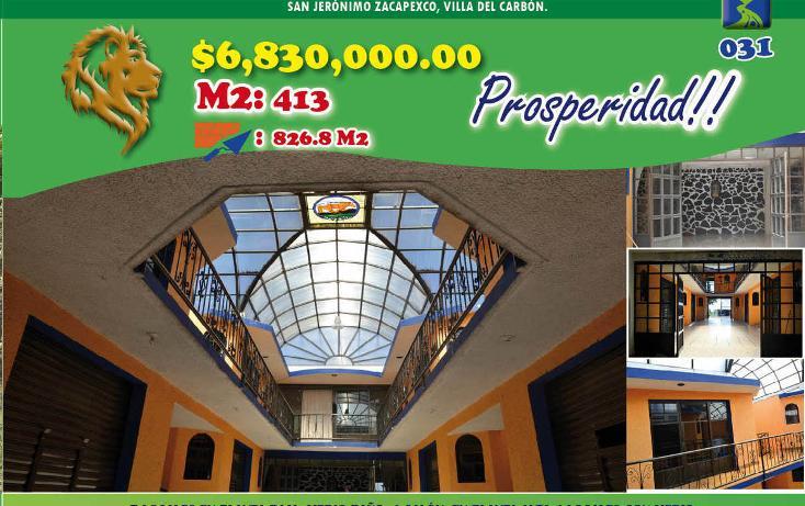 Foto de local en venta en  , san jeronimo zacapexco, villa del carbón, méxico, 2012012 No. 01