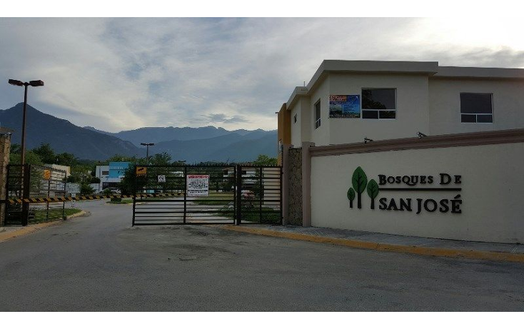 Foto de terreno habitacional en venta en  , san jose del norte, santiago, nuevo león, 1269707 No. 01