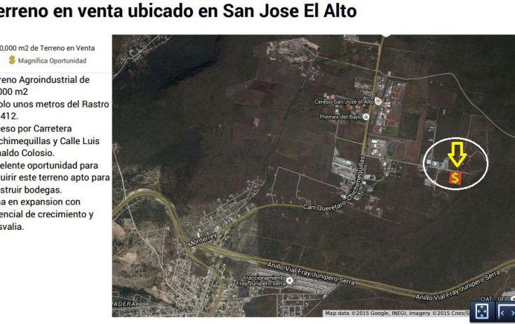 Foto de terreno industrial en venta en, san josé el alto, querétaro, querétaro, 1248139 no 01