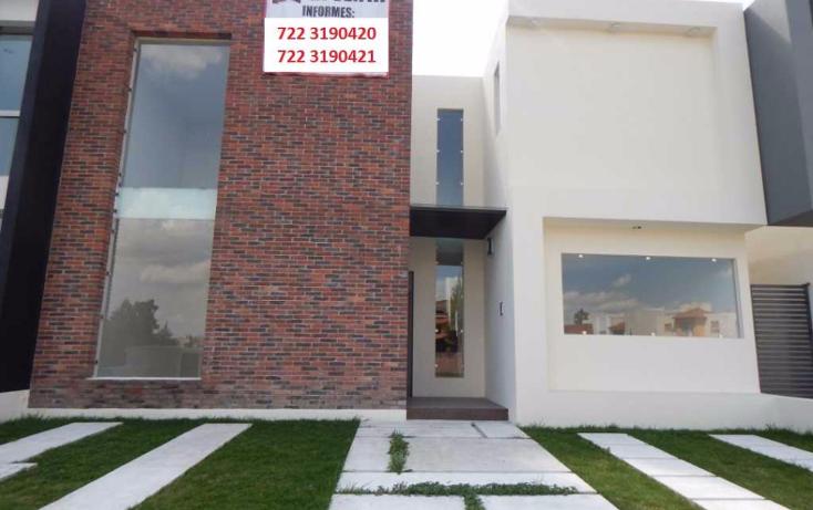 Foto de casa en condominio en venta en  , san josé guadalupe otzacatipan, toluca, méxico, 1573956 No. 01