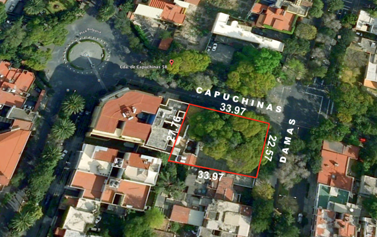 Foto de terreno habitacional en venta en  , san jos? insurgentes, benito ju?rez, distrito federal, 1514460 No. 01