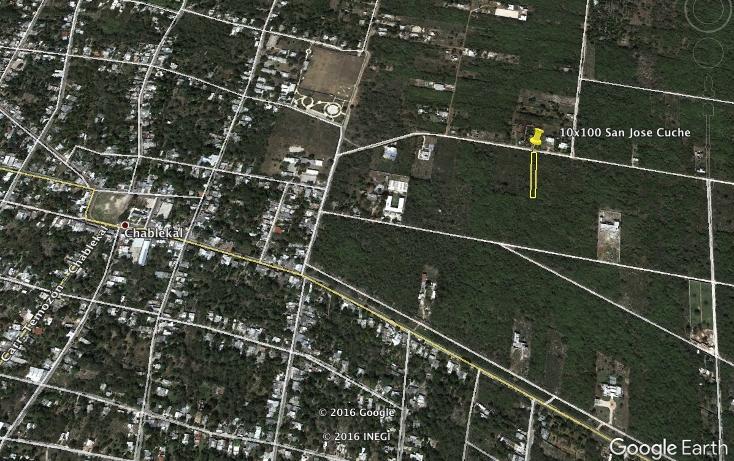 Foto de terreno habitacional en venta en san jose kuche , chablekal, mérida, yucatán, 1511399 No. 01