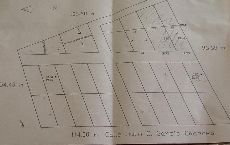 Foto de terreno habitacional en venta en  , san josé terán, tuxtla gutiérrez, chiapas, 1040663 No. 02