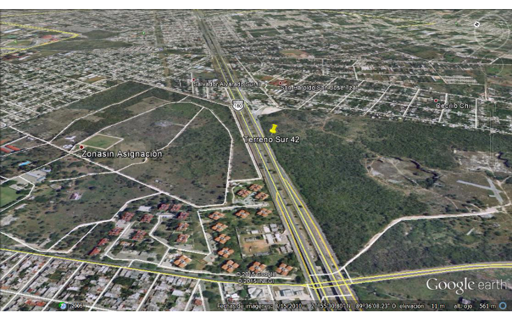 Foto de terreno comercial en renta en  , san jose tzal, mérida, yucatán, 1435219 No. 01