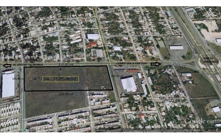 Foto de terreno habitacional en venta en  , san jose vergel, m?rida, yucat?n, 1941703 No. 01