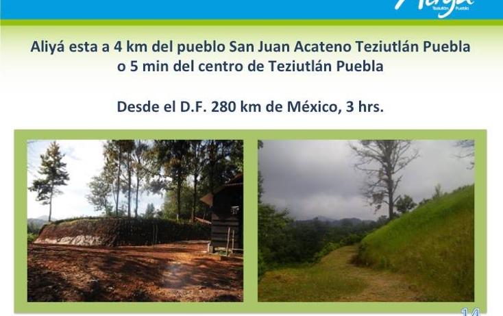 Foto de terreno comercial en venta en  , san juan acateno, teziutlán, puebla, 1127867 No. 02