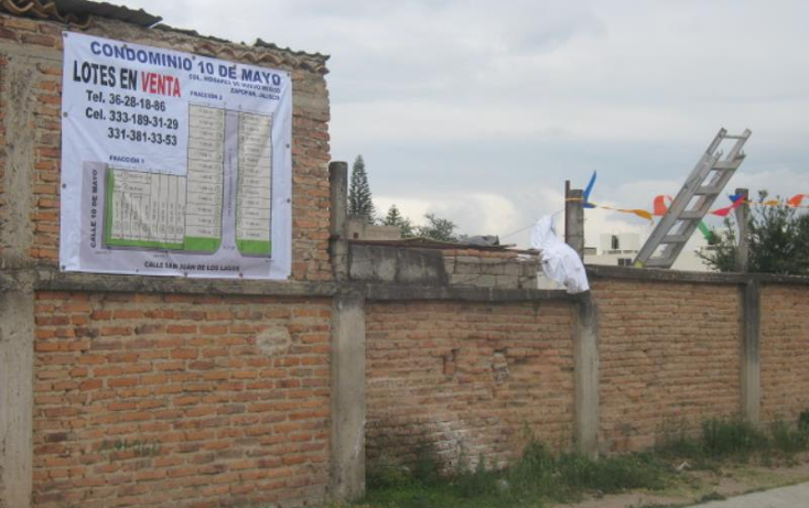 Foto de terreno habitacional en venta en san juan de los lagos, casi esquina con calle 10 de mayo 0, hogares de nuevo méxico, zapopan, jalisco, 1945212 No. 03