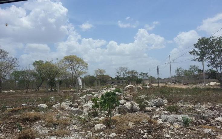 Foto de terreno habitacional en venta en  , san juan grande, mérida, yucatán, 1804500 No. 05