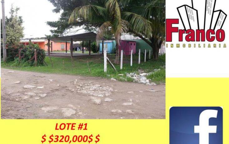 Foto de terreno habitacional en venta en san juan, morelos, comalcalco, tabasco, 1319159 no 01