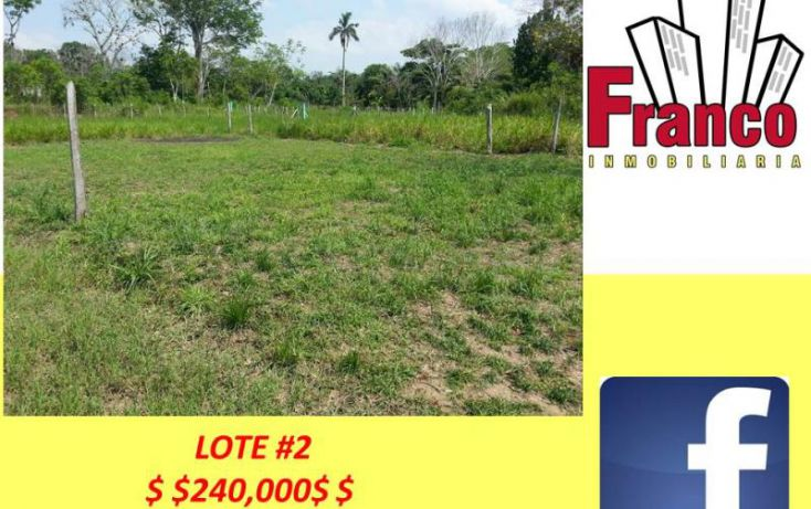 Foto de terreno habitacional en venta en san juan, morelos, comalcalco, tabasco, 1319159 no 05