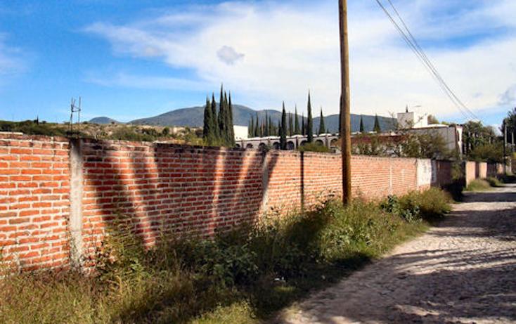 Foto de terreno habitacional en venta en  , san juan, tequisquiapan, querétaro, 1262781 No. 02