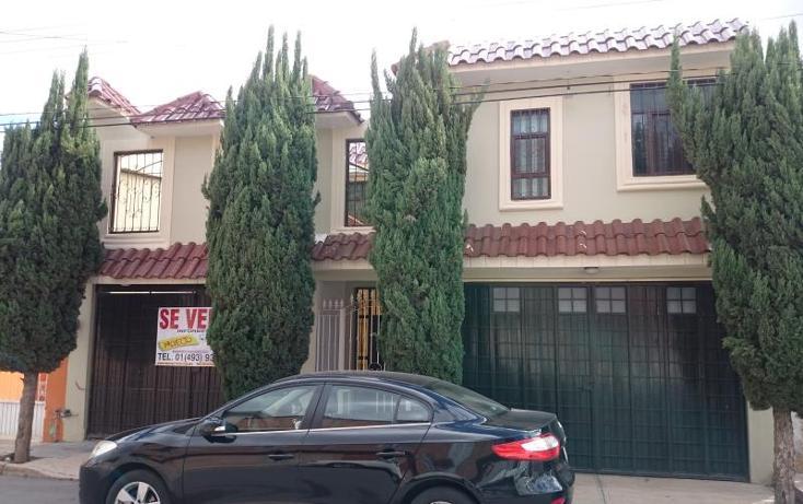 Foto de casa en venta en san lorenzo 122, industrial, fresnillo, zacatecas, 3435293 No. 01