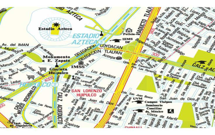 Foto de terreno habitacional en venta en  , san lorenzo huipulco, tlalpan, distrito federal, 1097231 No. 01
