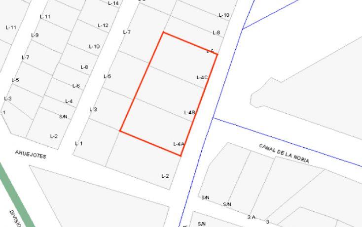 Foto de terreno habitacional en venta en, san lorenzo la cebada, xochimilco, df, 1296555 no 05