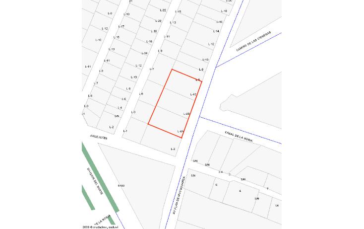 Foto de terreno habitacional en venta en  , san lorenzo la cebada, xochimilco, distrito federal, 1296555 No. 05