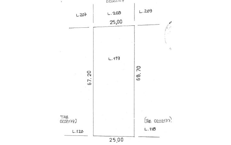 Foto de terreno habitacional en venta en  , san lorenzo, umán, yucatán, 1092071 No. 03