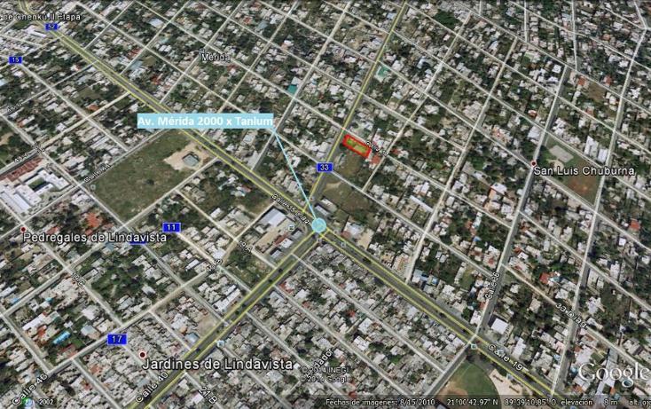 Foto de terreno comercial en venta en, san luis chuburna, mérida, yucatán, 1289491 no 01