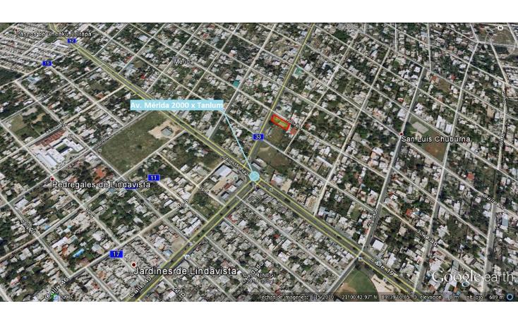 Foto de terreno comercial en venta en  , san luis chuburna, mérida, yucatán, 1289491 No. 01