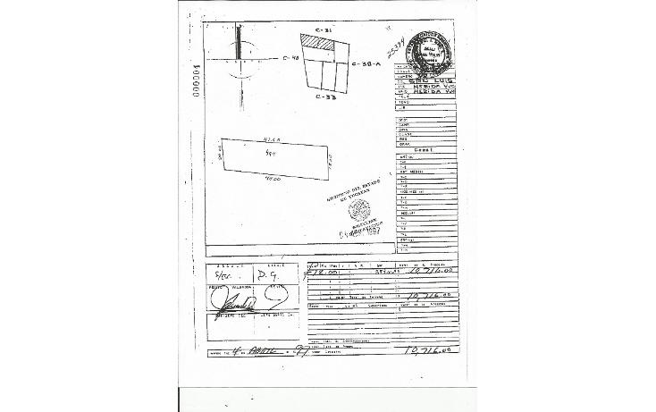 Foto de terreno comercial en venta en  , san luis chuburna, mérida, yucatán, 1289491 No. 04