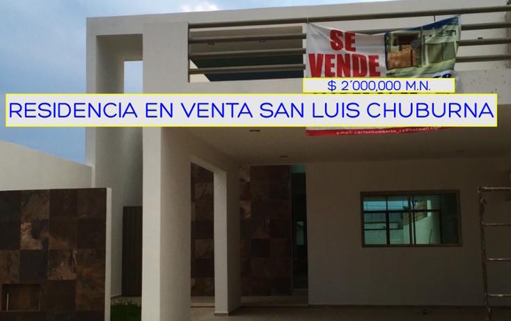 Foto de casa en venta en  , san luis chuburna, mérida, yucatán, 1545778 No. 01