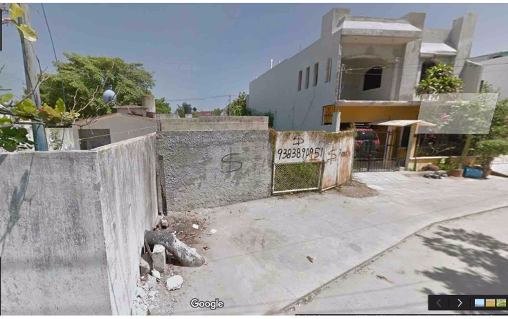 Foto de terreno habitacional en venta en  , san manuel, carmen, campeche, 1104801 No. 01