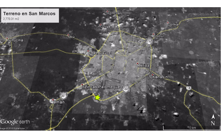 Foto de terreno comercial en venta en  , san marcos nocoh, mérida, yucatán, 2044330 No. 02