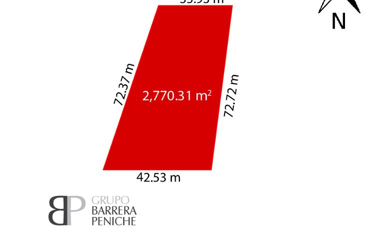 Foto de terreno comercial en venta en  , san marcos nocoh, mérida, yucatán, 2044330 No. 03