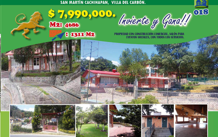 Foto de local en venta en  , san mart?n cachihuapan, villa del carb?n, m?xico, 1974717 No. 01