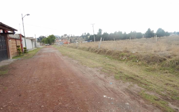 Foto de terreno habitacional en venta en  , san mart?n toltepec, toluca, m?xico, 1228421 No. 10