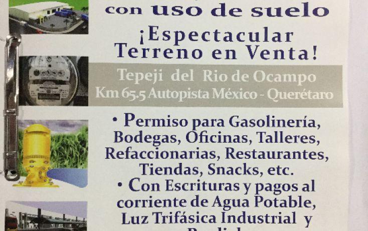 Foto de terreno comercial en venta en, san mateo buenavista, tepeji del río de ocampo, hidalgo, 1114863 no 07