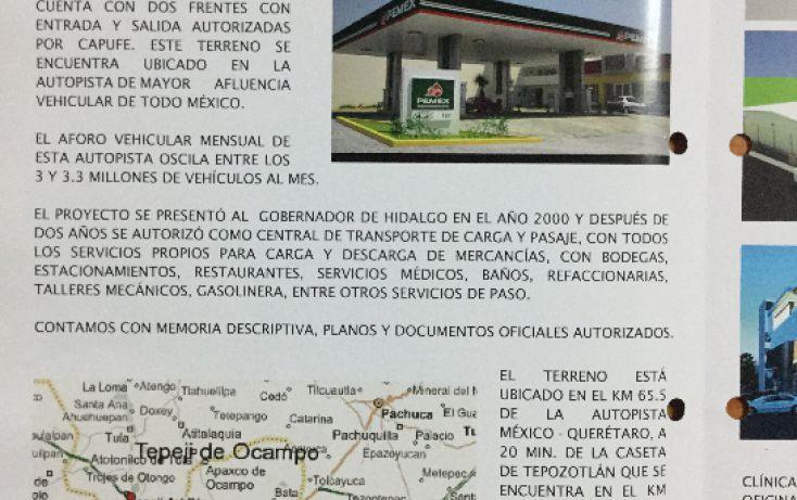 Foto de terreno comercial en venta en, san mateo buenavista, tepeji del río de ocampo, hidalgo, 1114863 no 08