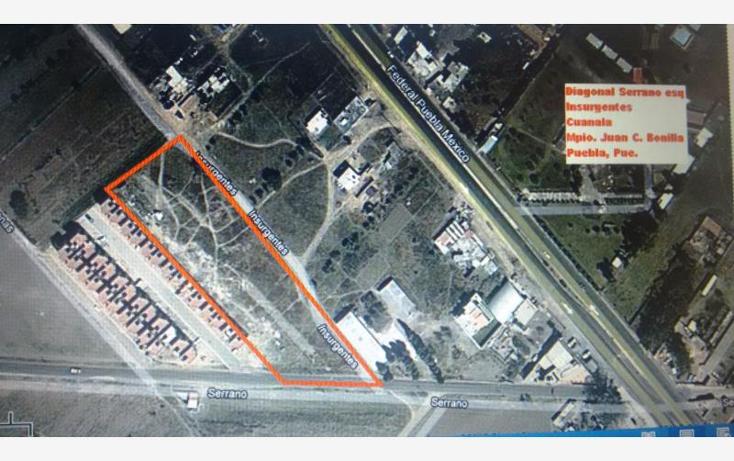 Foto de terreno comercial en venta en  , san mateo cuanala, juan c. bonilla, puebla, 1606746 No. 01