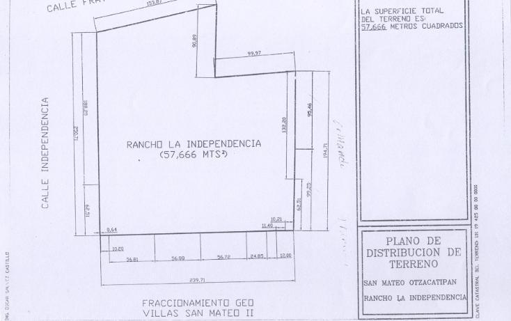 Foto de terreno habitacional en venta en  , san mateo oxtotitlán, toluca, méxico, 1122293 No. 05
