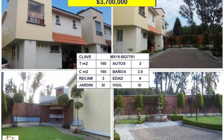 Foto de casa en venta en  , san mateo tecoloapan, atizapán de zaragoza, méxico, 1705134 No. 01