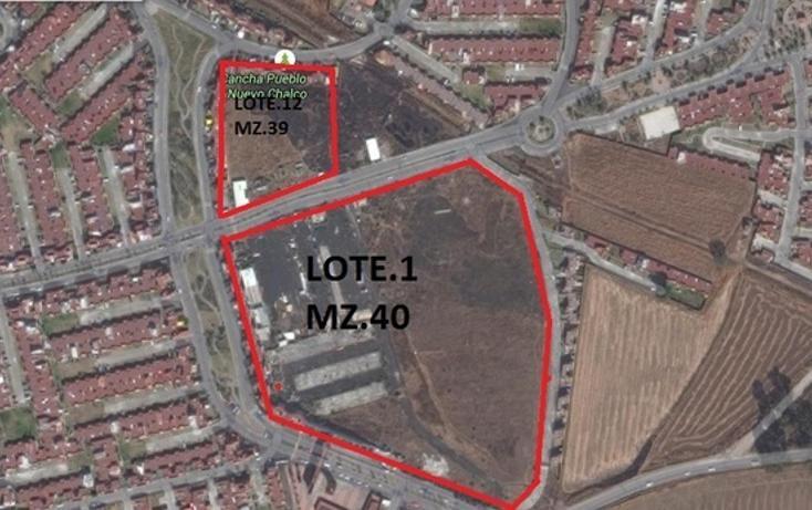 Foto de terreno habitacional en venta en san mateo tezoquiapan , pueblo nuevo, chalco, méxico, 1349399 No. 01