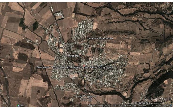 Foto de terreno habitacional en venta en  , san mateo tezoquipan miraflores, chalco, méxico, 717119 No. 03